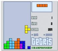 Тетрис онлайн игра Чемпионат по Тетрису классический Tetris Championship