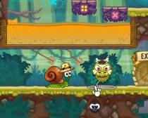 Улитка Боб на Острове бродилка квест игра Snail Bob 8 Island Story