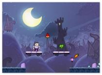 Вампир Вегетарианец игра приключения собирать овощи Vegan Vampire