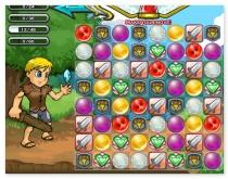 Сражение Воинов головоломка игра Манамансер три в ряд Manamancers