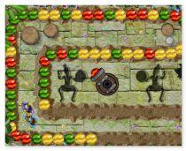 Зума Джунгли Тропический Гром игра с шариками 3 в ряд Tropical Jungle Rumble