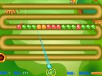Яркая Зума цветные шарики игра три в ряд стрелять шары Colorful Zuma