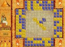 Загадочный Египет двигать блоки составлять по три в рядом игра Egypt Puzzle