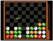 Поукс Драгоценные камни три в ряд игра Poux