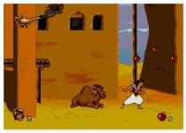 Алладин аркада бродилка ретро игра для СЕГА Aladdin