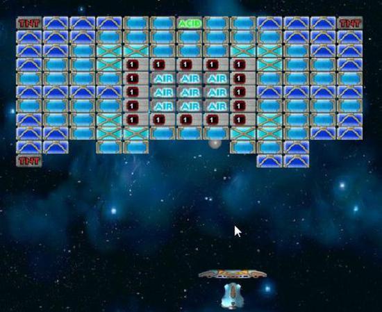 Арканоид играть онлайн управление клавишами