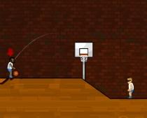 Баскетбол Мяч в Корзину с командой против противника игра Basket Balls