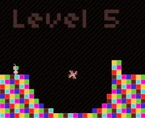 Сдавайся Робот аркада ретро бродилка прыжки игра Give Up Robot