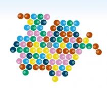 Шары Раскрути и Лопни стрелять по цветным шарикам три в ряд Bubble Spinner