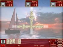Книга Домино игра в домино против компьютера четыре противника Buku Dominoes