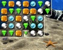 Драгоценности Атлантиды Жемчужина Атлантов три в ряд игра Jewel of Atlantis