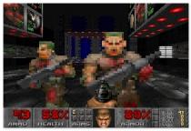 Дум стрелялка Рок ретро шутер от первого лица Doom 1