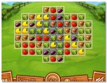 Farm of Dreams Веселая ферма Вашей мечты игра совпадения три в ряд