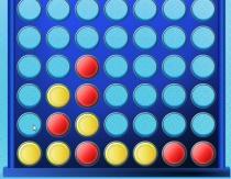 Четыре в ряд Соедини четверку логическая головоломка игра Connect Four