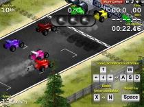 Гран При Формулы 1 на машинках мини кольцевые гонки игра Grand Prix Go