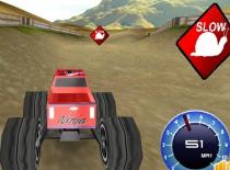 Большие грузовики монстры гонки на грузовиках 3D игра big monster truck