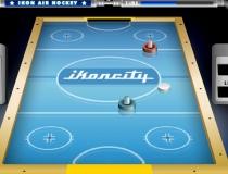 Аэрохоккей настольная игра в Хоккей чемпионат воздушный хоккей Air Hockey