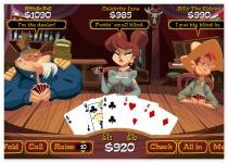 Старый добрый игрушечный покер игра в карты покер на диком западе Good Old Poker