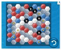 Драгоценные камни треугольники 3 в ряд Gems