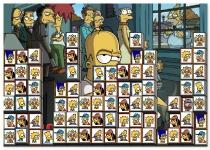 Маджонг Симпсонов коннект найди пару Tiles Of The Simpsons