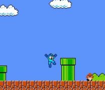 Супер Марио Микс лучшие персонажи ретро игр в игре Super Mario Crossover