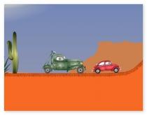 Машина ест машину хищные машины первая часть игра Car eats car 1