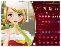 Новогодний Макияж одевалка игра New Year s Makeup