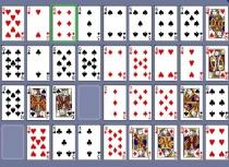 Пасьянс Коврик карты пасьянс разложи по порядку игра Addiction Solitaire