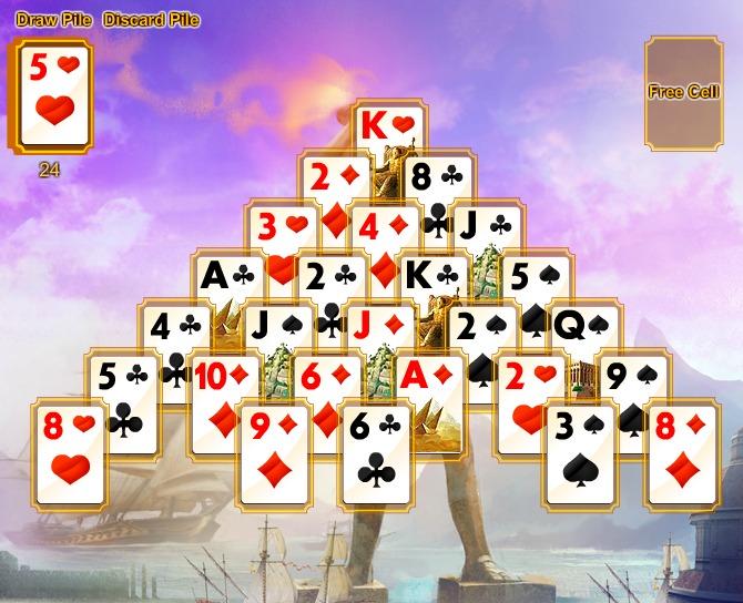 Игра в карты косынка пасьянс играть бесплатно