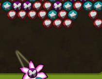Пингпобл шарики по три в ряд стрелять цветками игра Pobble