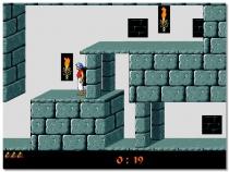 Принц Персии ретро игра бродилка в замке освободить принцессу Prince of Persia
