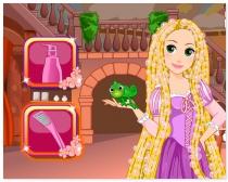 Парикмахер для Рапунцель стрижка уход за волосами Rapunzel Haircuts Design