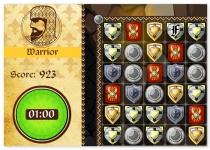 Рыцари пазл три в ряд совпадения коннект Knights
