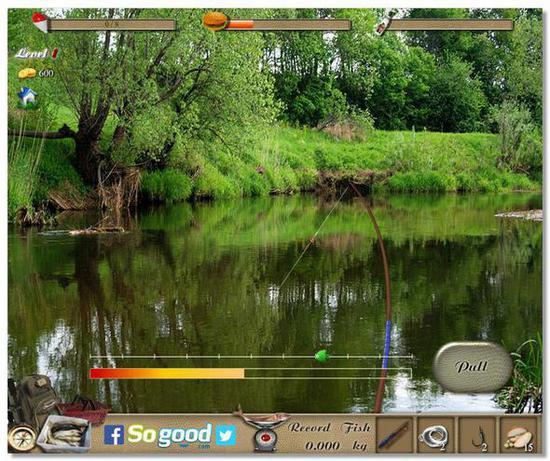 Лучший онлайн симулятор рыбалки