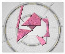 Собирая фигуры головоломка как новый тетрис Shape Fold