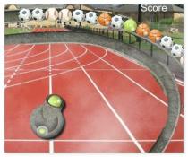 Спорт Зума три мяча в ряд спортивная игра sport zuma