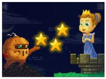 Звездный Рыцарь и Принцесса игра баллистика Starry Knight