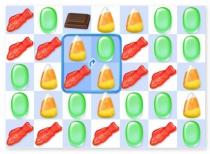 Сладкие сны четыре в ряд конфеты игра пазл Sweet Dreams