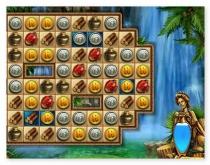 Римский пазл три в ряд головоломка Древнего Рима игра Roma Puzzle
