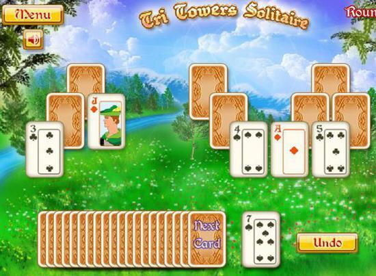 Три башни карты играть бесплатно обзор онлайн казино фараон