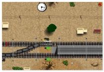 Управление поездами контроль трафика на железной дороге игра Train Traffic Control